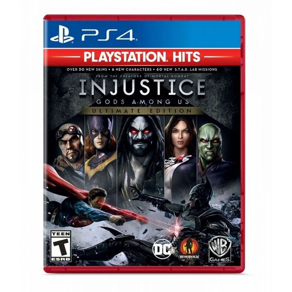 Injustice-Gods-Among-US-Ultimate-Edition---PS4